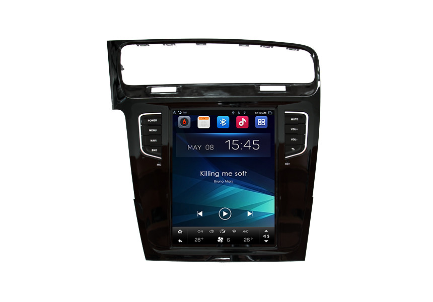Dashboard VOLKSWAGEN GPS Navigation System For Golf R / Golf GTE / Golf 7