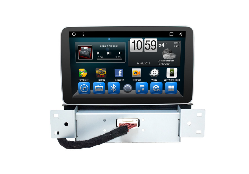 Custom Android 2 Din Radio Backup Camera For Ford Focus 2019 Android Head Unit Player